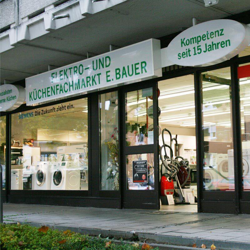 Elektrogerate Im Raum Munchen Elektrofachmarkt Bauer